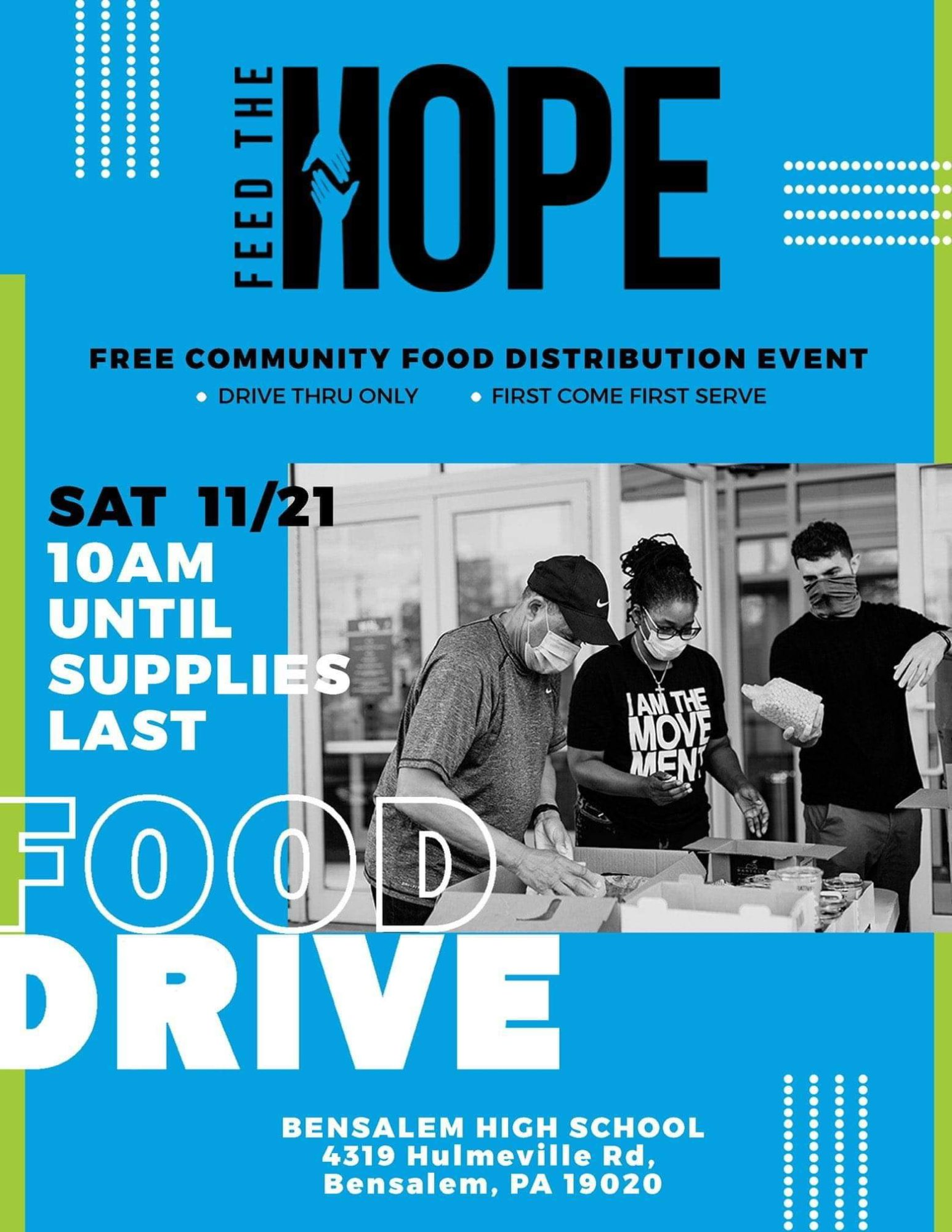 Feed the Hope Food Dist Event